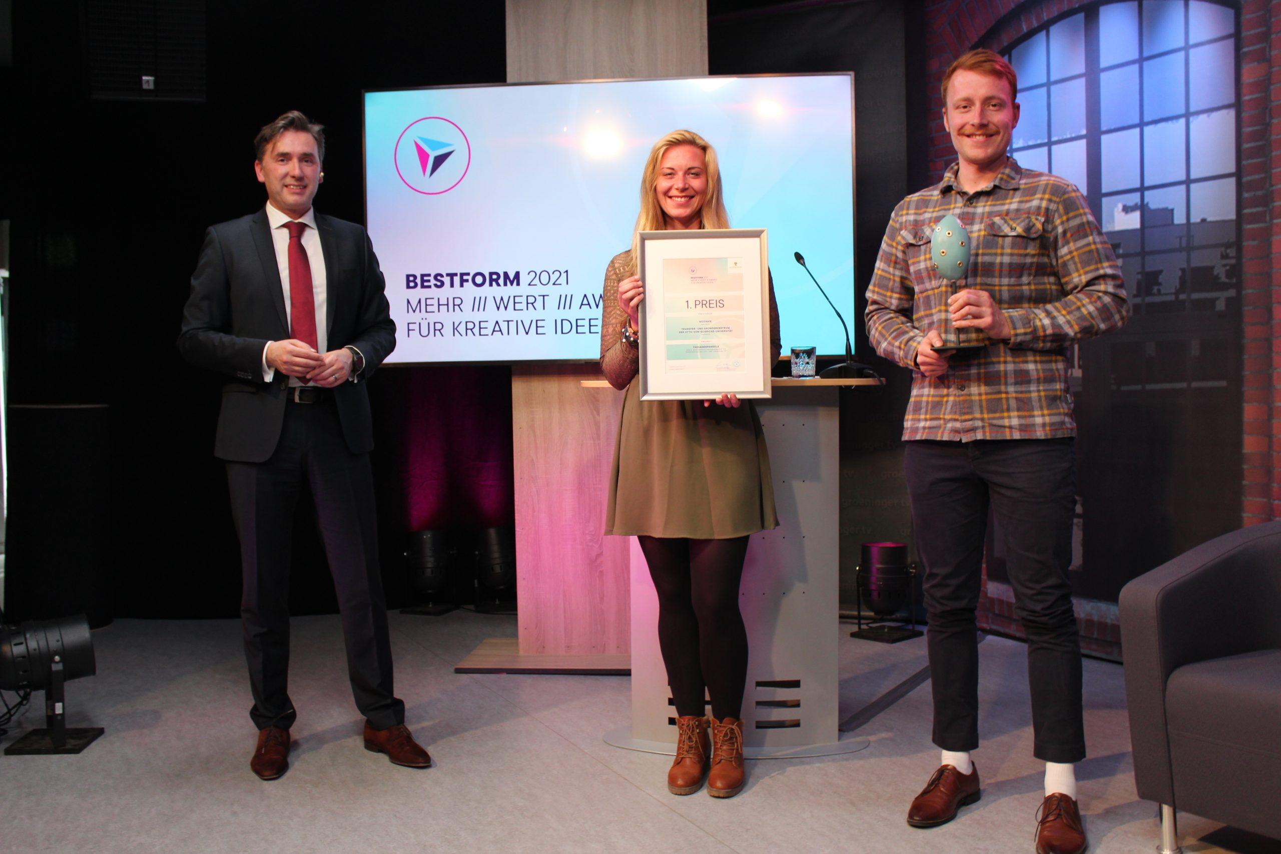 April 2021: Moosaik gewinnt BESTFORM Award 2021